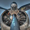 B-17g Propeller by Dale Powell