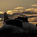 B-25 Sunset by John Clark