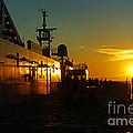B C Ferries Sunsets Sc3417-13 by Randy Harris