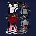 B For Bosox - Boston Red Sox by Joann Vitali