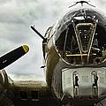 B17 Bomber Form Ww II by M K Miller