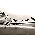 B17 Bomber Wing From Ww II by M K  Miller