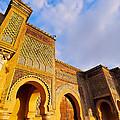 Bab Mansour In Meknes In Morocco by Karol Kozlowski