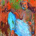 Baba In A Chair by Joe DiSabatino