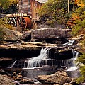 Babcock Grist Mill And Falls by Jerry Fornarotto