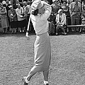 Babe Didrikson Teeing Off by Julian Graham