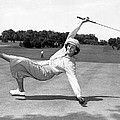 Babe Didrikson Zaharias by Underwood Archives