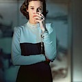 Babe Paley Wearing A Traina-norell Dress by Horst P. Horst
