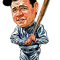 Babe Ruth by Art