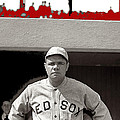 Babe Ruth As Member Of The Boston Red Sox National Photo Company Collection 1919-2013 by David Lee Guss