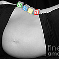 Baby Blocks Black And White Ctt by Melissa Kimball
