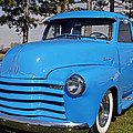 Baby Blue Chevy From 1950 by Randall Branham