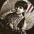 Baby Face Homage 1933 Sepia Variation 2 Virginia City Montana 1971 by David Lee Guss