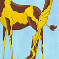Baby Giraffe Nursery Art by Christy Beckwith