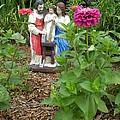 Baby Jesus In Garden by Matthew Seufer