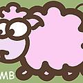 Baby Lamb Nursery Art by Nursery Art