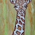 Baby Longneck Giraffe by Ella Kaye Dickey