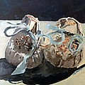 Baby Moccasins  by Saundra Lane Galloway