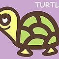 Baby Turtle Nursery Wall Art by Nursery Art