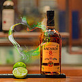 Bacardi And Lime In Love by Gavin Baker