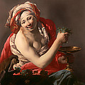Bacchante With An Ape by Mountain Dreams