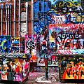 Back Alley Canvas by Anthony Wilkening
