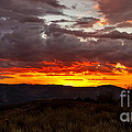 Back Country Sunset by Robert Bales