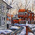 Back Lanes 02 Montreal By Prankearts by Richard T Pranke