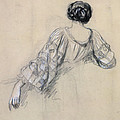 Back Of A Young Woman by Antoine Auguste Ernest Herbert