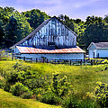 Back Roads Country Barn by Virginia Folkman