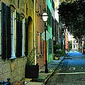 Back Street In Charleston by Rodney Lee Williams