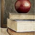 Back To School Apple For Teacher by Edward Fielding