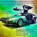 Back To The Delorean by Helge