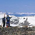 Backcountry Skiers by Chris Selby