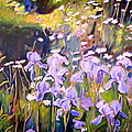 Backyard Garden IIi by Sheila Diemert