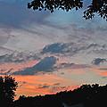 Backyard Sunset by Deborah Good