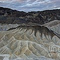 Badlands At Sunrise. Death Valley by Juli Scalzi
