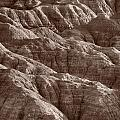 Badlands Light Bw by Steve Gadomski