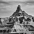 Badlands Peak by Paul Freidlund
