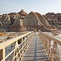 Badlands Walkway by Bryan Mullennix