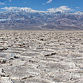 Badwater Basin - Death Valley by Sandra Bronstein