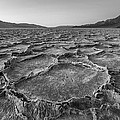 Badwater Salt Formation In Black And White by Pierre Leclerc Photography
