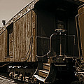 Baggage Car by Mike Flynn