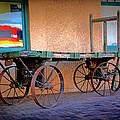 Baggage Cart by Lynn Sprowl