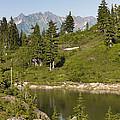 Bagley Lake - Washington by Brendan Reals