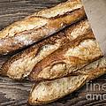 Baguettes Bread by Elena Elisseeva