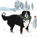 Bah Humbug Merry Christmas Large by Liane Weyers