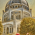 Baha'i  Temple In Wilmette by Rudy Umans