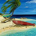Bahama Beach by Steve Ozment
