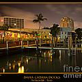 Bahia Cabana Docks by John Stephens